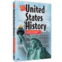 U.S. History : A Nation Divided The American Civil War DVD