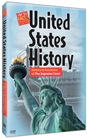 U.S. History : History And Functions Of The Supreme Court DVD