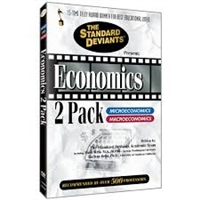 Standard Deviants Economics DVD Pack
