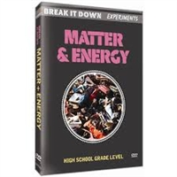 Break It Down Experiments: Matter & Energy DVD