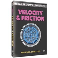 Break It Down Experiments: Velocity & Friction DVD