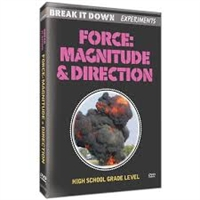 Break It Down Experiments: Forces: Magnitude & Direction DVD