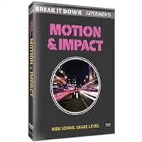 Break It Down Experiments: Motion & Impact DVD