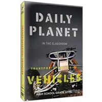 Daily Planet in the Classroom Transportation: Vehicles DVD