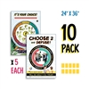 Kelso's Choice Posters Grade K-3 (5-Pack) And Grade 4-5 (5-Pack) (11x17)