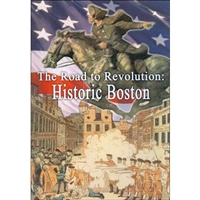 Road To Revolution: Historic Boston DVD
