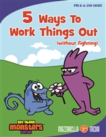 Get Along Monsters: 5 Ways To Work Things Out (Without Fighting) DVD