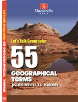 Let's Talk Geography: 55 Geographical Terms DVD