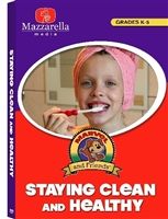Marvel and Friends: Staying Clean and Healthy DVD