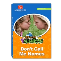Get Along Monsters: Don't Call Me Names DVD