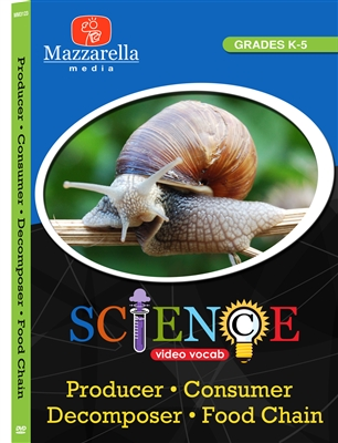 Producer, Consumer, Decomposer, Food Chain DVD