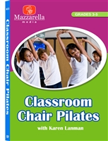 Classroom Chair Pilates DVD