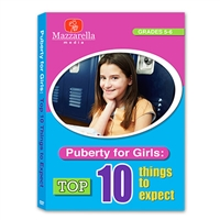 Puberty For Girls: Top Ten Things To Expect DVD