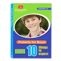 Puberty For Boys: Top Ten Things To Expect DVD