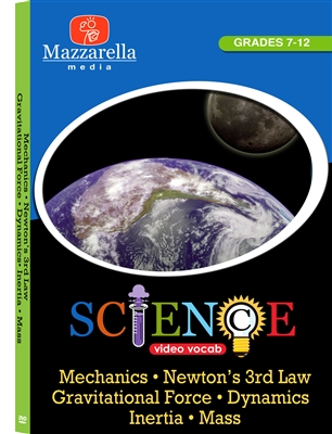 Mechanics, Newton's 3rd Law, Gravitational Force, Dynamics, Inertia, Mass