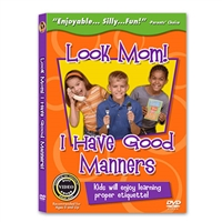 Look Mom! I Have Good Manners DVD