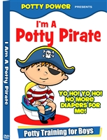 I'm A Potty Pirate DVD