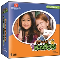 Get Along Monsters Series (9 DVD Set)