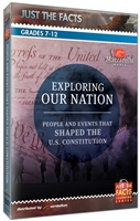 Just the Facts: Exploring Our Nation: People and Events That Shaped the U.S. Constitution DVD