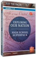 Just the Facts: Exploring Our Nation: High School DVD Superpack