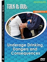 Talk It Out: Underage Drinking, Dangers and Consequences DVD
