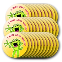 Kelso Circle Stickers (100 Individual Stickers)