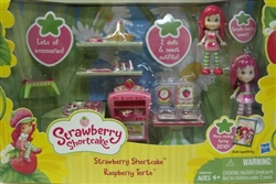 Strawberry Shortcake Raspberry Torte Baking Playset