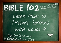 Online Class: DE-BIBLE102 - How to Prepare Sermons with Logos 4