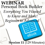 Webinar Personal Book Builder Overview