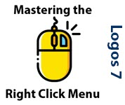 Mastering the RIght Click Menu