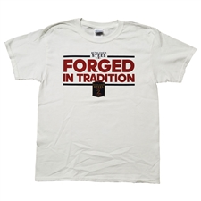Bethlehem Steel FC Youth Forged in Tradition Short Sleeve Tee (White)
