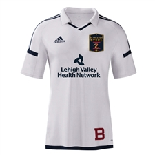 Bethlehem Steel FC 2016 White Authentic Youth Soccer Jersey