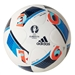 Adidas Euro 2016 Top Glider Soccer Ball (White/Bright Blue/Night Indigo)