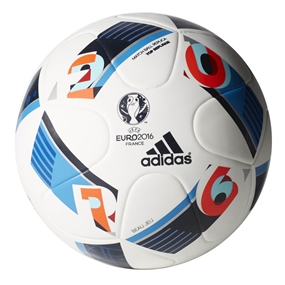 Adidas Euro 2016 Top Replique Soccer Ball (White/Bright Blue/Night Indigo)