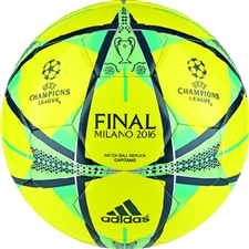 Champions League Final Milano 2016 Match Ball Replica Capitano Soccer Ball