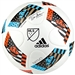 Adidas MLS 2016 MLS Top Glider Soccer Ball (White/Shock Blue/Black)