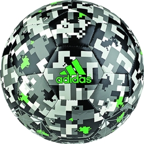 Off Pitch Sala Soccer Ball (Black/Ash/Stone/White)