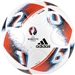 Adidas Euro 2016 Top Glider Soccer Ball (White/Bright Blue/Solar Red/Silver Metallic)