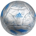 Adidas Messi Q3 Soccer Ball (Metallic Silver)