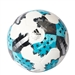 Adidas 2017 MLS Glider Soccer Ball (White/Energy Blue/Onix)