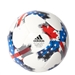 Adidas 2017 MLS Top Glider Soccer Ball (White/Red/Blue)