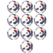 Adidas 2017 MLS Top Glider Soccer Ball 10 Pack (White/Red/Blue)
