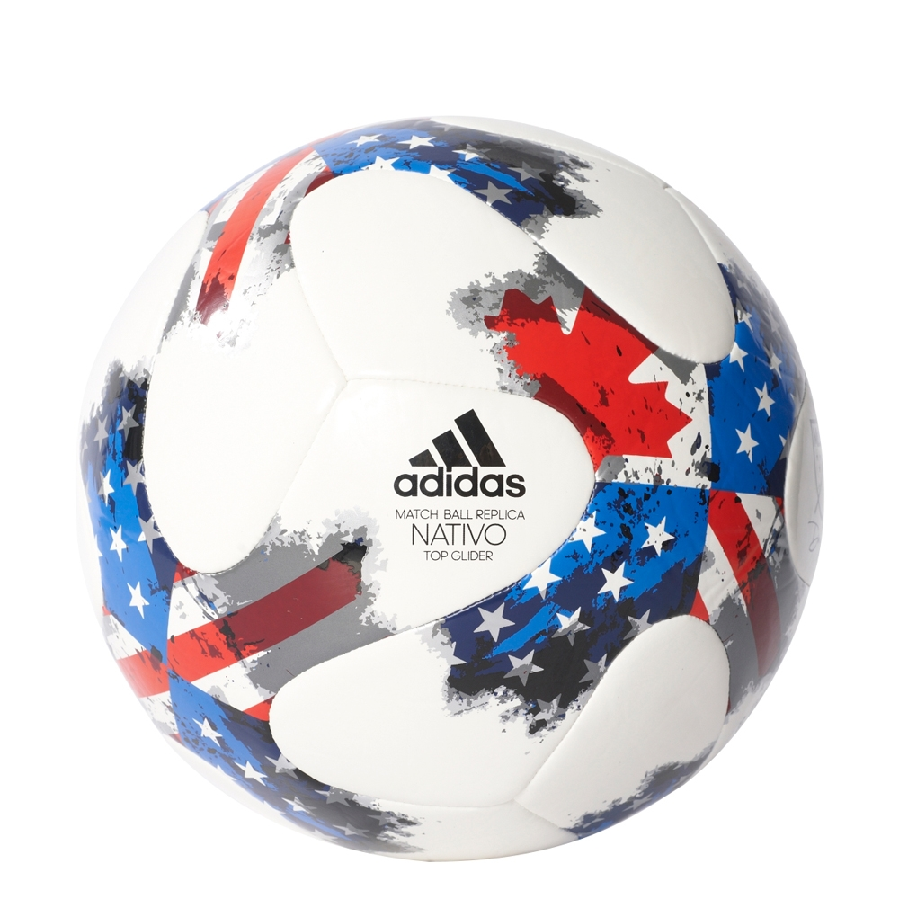 7f0649352 Adidas 2017 MLS Top Glider Soccer Ball (White/Red/Blue) | AZ3213 ...