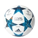 Adidas Finale Cardiff Top Training Soccer Ball (White/Mystery Blue/Cyan)