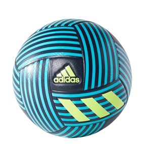 Adidas Nemeziz Soccer Ball (Legend Ink/Energy Blue/Solar Yellow)
