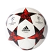 Adidas Finale '17 Capitano Soccer Ball (White/Black/Victory Red/Solar Red)