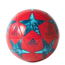Adidas Finale '17 Capitano Soccer Ball (Energy Pink/Petrol Night/Mystery Petrol/Energy Blue)