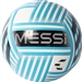 Adidas Messi Glider Soccer Ball (White/Energy Blue/Black/Light Grey)