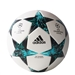 Adidas Finale 2017 Top Training Soccer Ball (White/Core Black/Dark Green/Energy Blue)