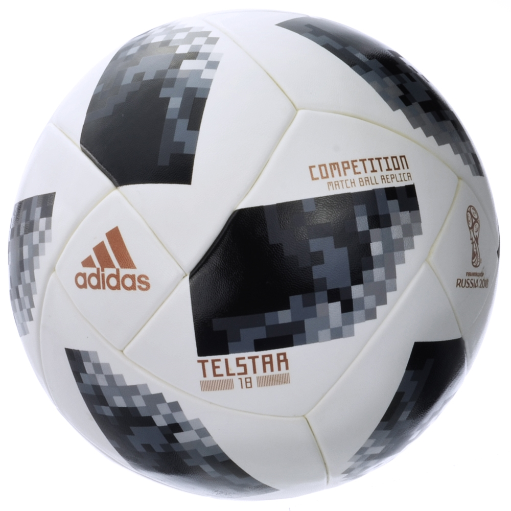 7532a546a Adidas World Cup 2018 Competition Ball (White/Black/Silver Metallic ...